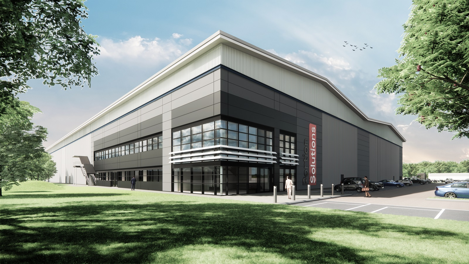 Portion Solutions announce planning application for a new production warehouse in Telford